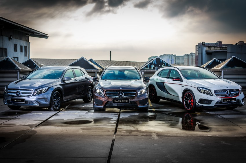 Mercedes-Benz GLA-Class SUV launched in Malaysia – GLA 200, GLA 250 and GLA 45 AMG, from RM239k Image #286601