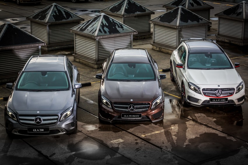 Mercedes-Benz GLA-Class SUV launched in Malaysia – GLA 200, GLA 250 and GLA 45 AMG, from RM239k Image #286603