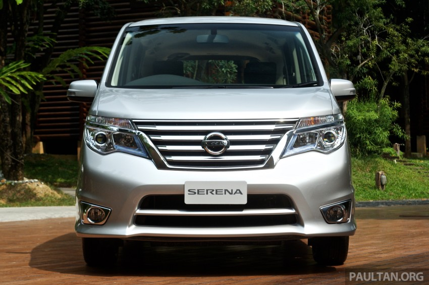 DRIVEN: 2014 Nissan Serena S-Hybrid – better value? Image #290506