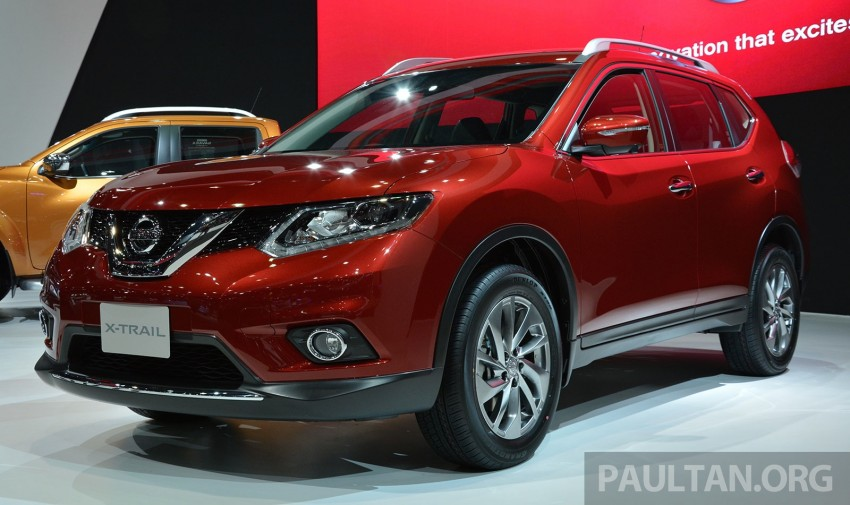 GALLERY: Nissan X-Trail at the 2014 Thai Motor Expo Image #292771