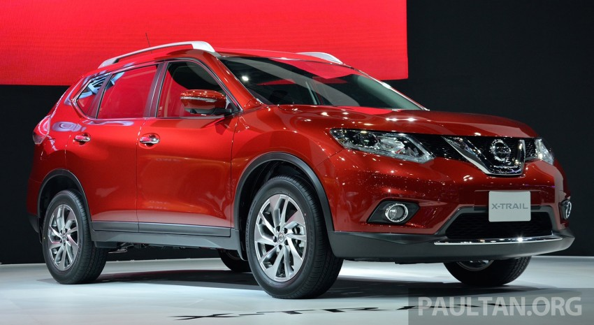 GALLERY: Nissan X-Trail at the 2014 Thai Motor Expo Image #292787