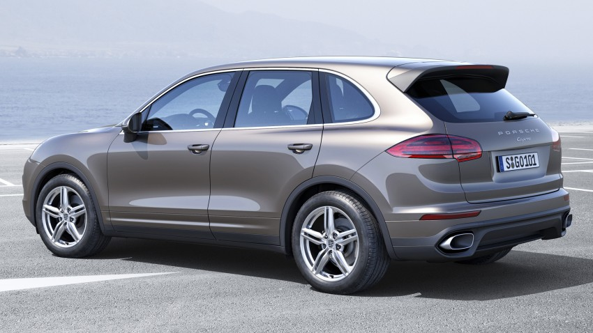 Porsche Cayenne and Cayenne GTS facelift unveiled Image #285312