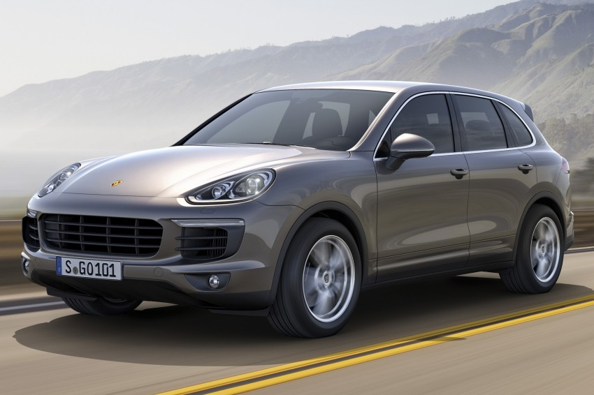 Porsche Cayenne and Cayenne GTS facelift unveiled Image #285313
