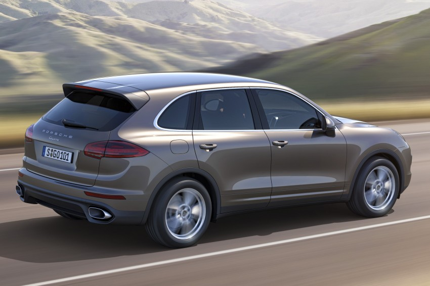 Porsche Cayenne and Cayenne GTS facelift unveiled Image #285314