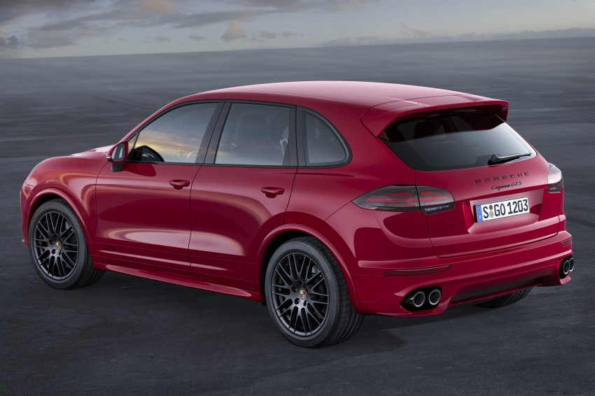 Porsche Cayenne and Cayenne GTS facelift unveiled Image #285318