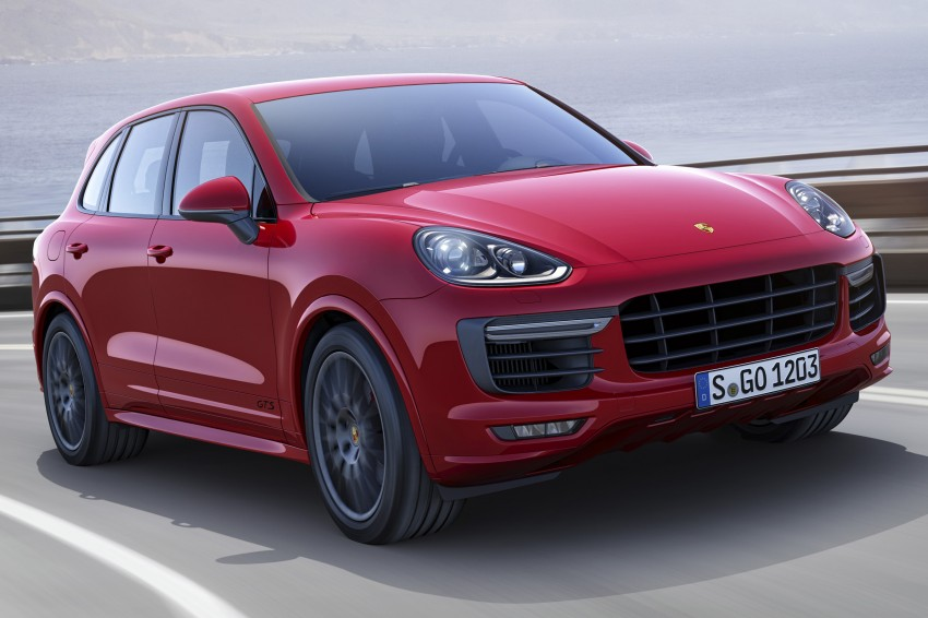 Porsche Cayenne and Cayenne GTS facelift unveiled Image #285320