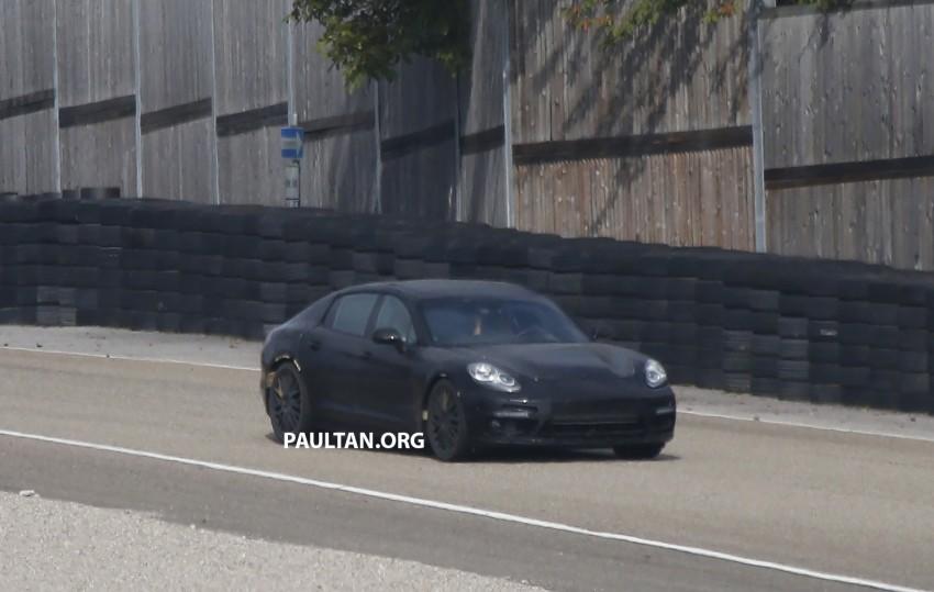 SPYSHOTS: Next-gen Porsche Panamera spotted Image #285424