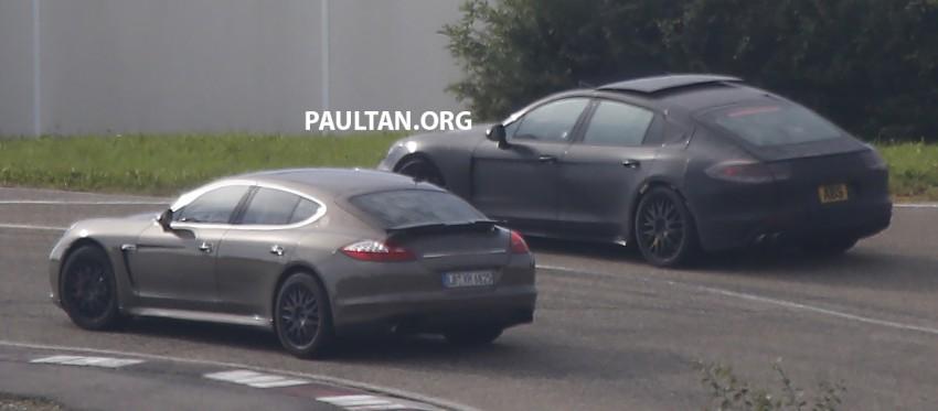 SPYSHOTS: Next-gen Porsche Panamera spotted Image #285430