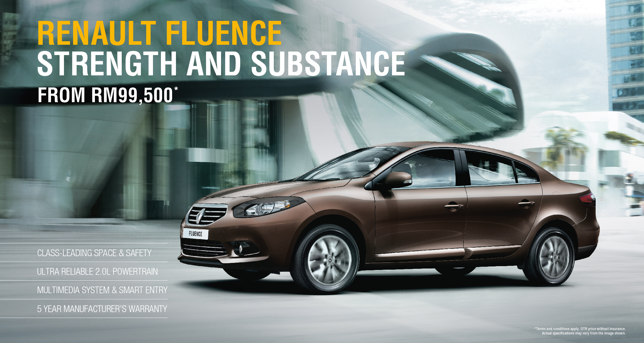 Full Coverage Car Insurance >> AD: New Renault Fluence 2.0L for as low as RM99,500!
