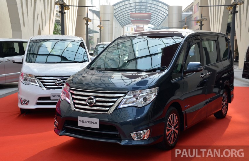 Nissan Serena S-Hybrid facelift debuts – CKD, RM139k Image #284901