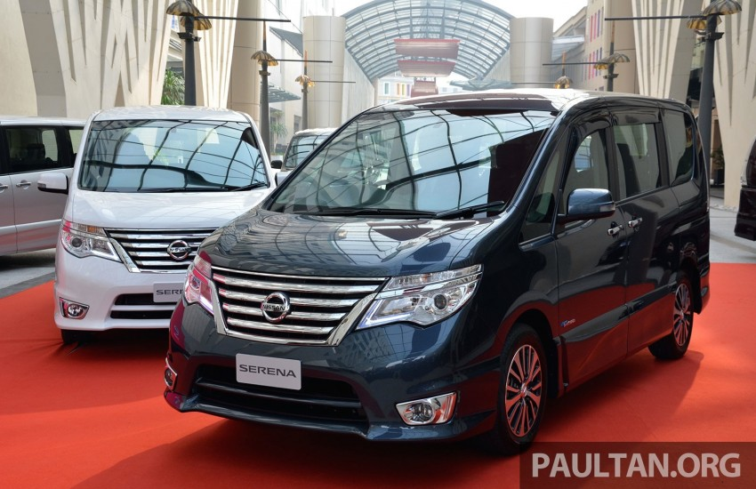 Nissan Serena S-Hybrid facelift debuts – CKD, RM139k Image #284913