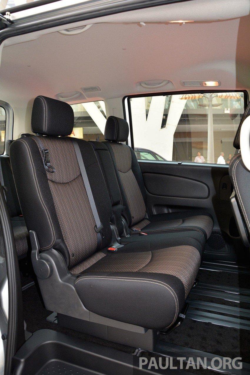 Nissan Serena S-Hybrid facelift debuts – CKD, RM139k Image #284934