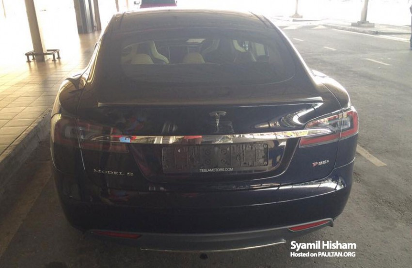 Tesla Model S spotted in Malaysia – grey import? Image #289355