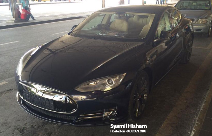 Tesla Model S spotted in Malaysia – grey import? Image #289357