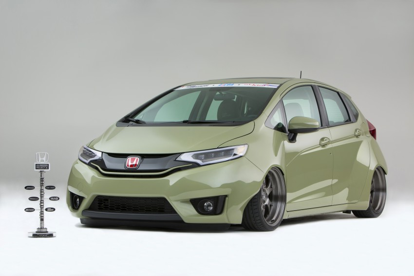 Honda Jazz – nine custom Fits nab award at SEMA Image #285713