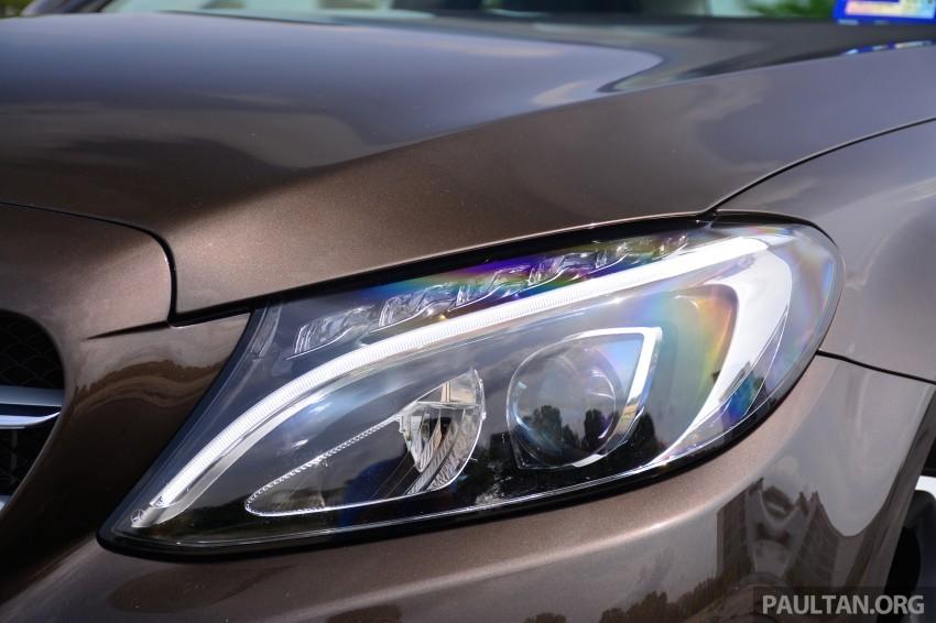 GALLERY: W205 Merc C-Class vs F30 BMW 3 Series Image #286327