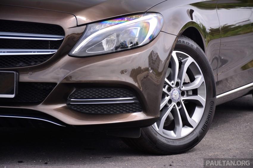 GALLERY: W205 Merc C-Class vs F30 BMW 3 Series Image #286328