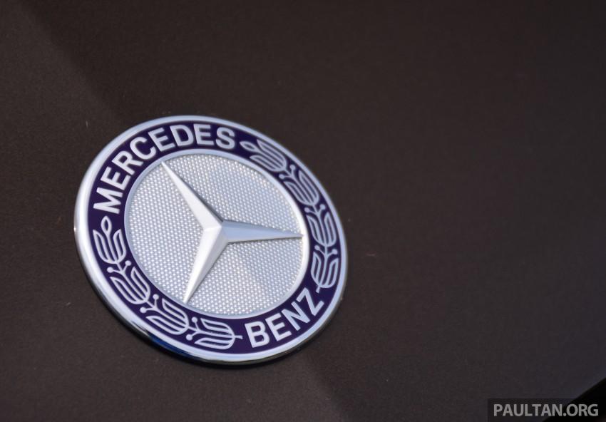 GALLERY: W205 Merc C-Class vs F30 BMW 3 Series Image #286330
