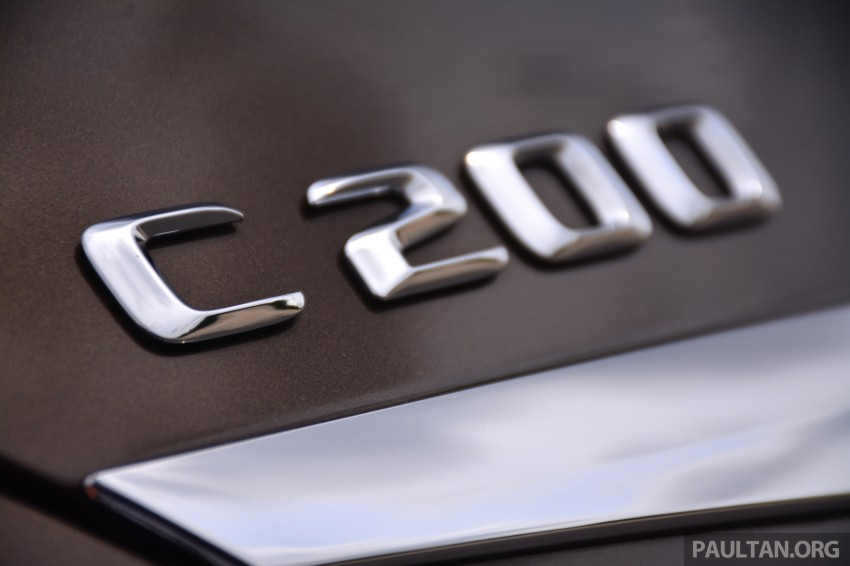GALLERY: W205 Merc C-Class vs F30 BMW 3 Series Image #286336