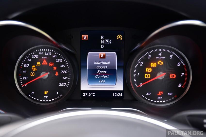 GALLERY: W205 Merc C-Class vs F30 BMW 3 Series Image #286343