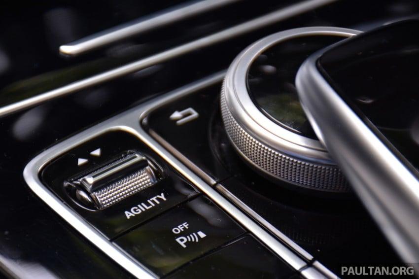 GALLERY: W205 Merc C-Class vs F30 BMW 3 Series Image #286350
