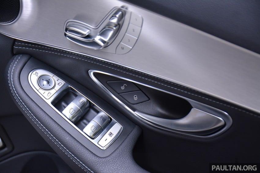 GALLERY: W205 Merc C-Class vs F30 BMW 3 Series Image #286354