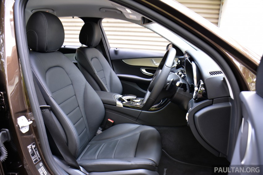 GALLERY: W205 Merc C-Class vs F30 BMW 3 Series Image #286356
