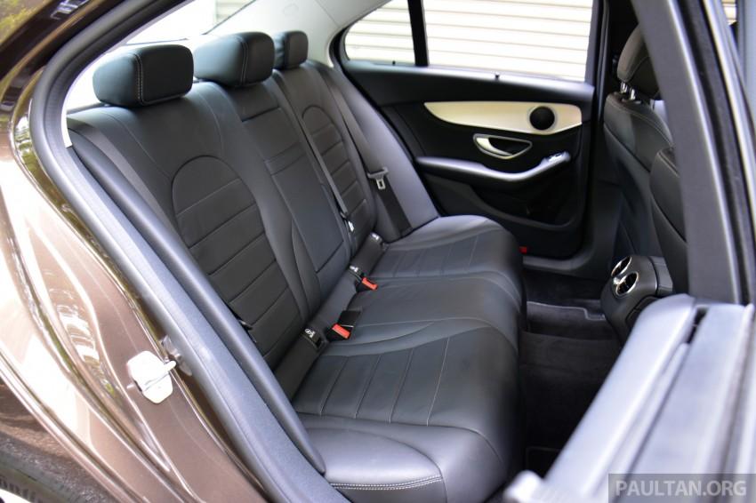 GALLERY: W205 Merc C-Class vs F30 BMW 3 Series Image #286358