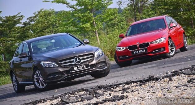 W205_Mercedes-Benz_C-Class_vs_F30_BMW_3_Series_ 005
