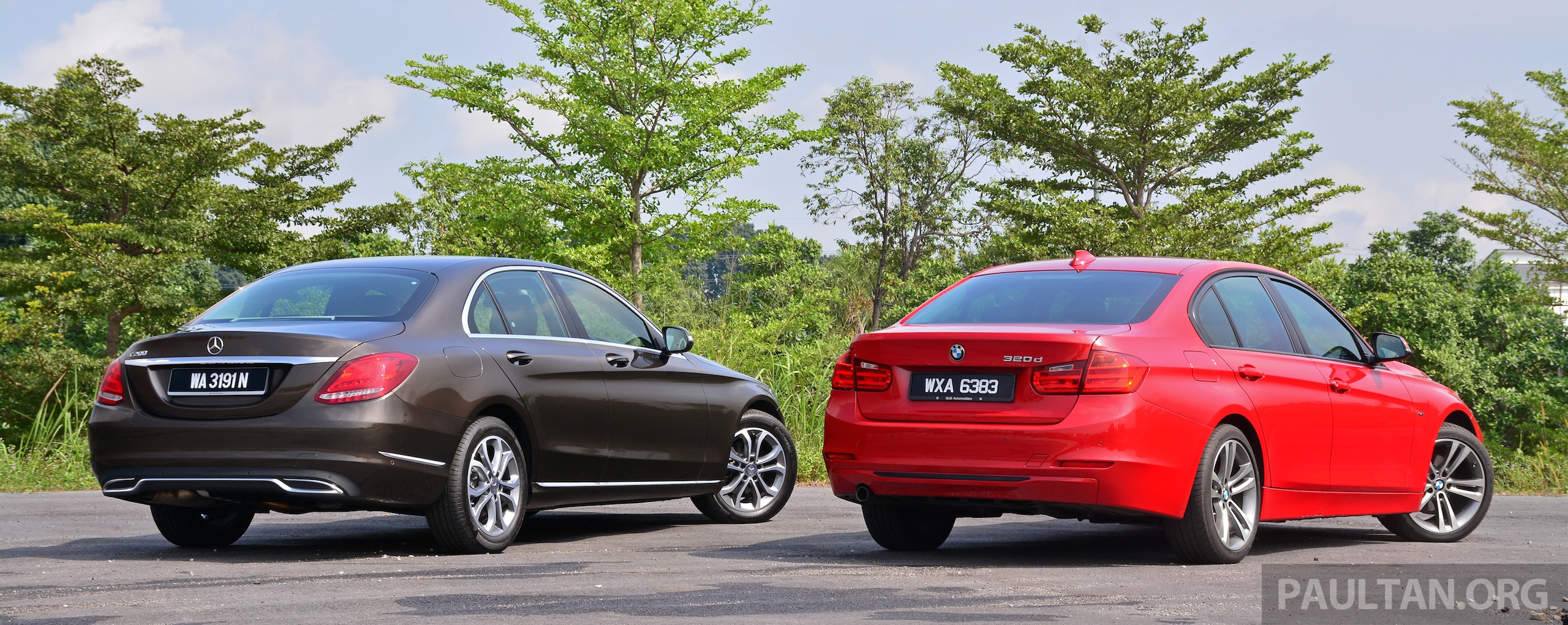 Gallery w205 merc c class vs f30 bmw 3 series image 286252 for Mercedes benz 3 series