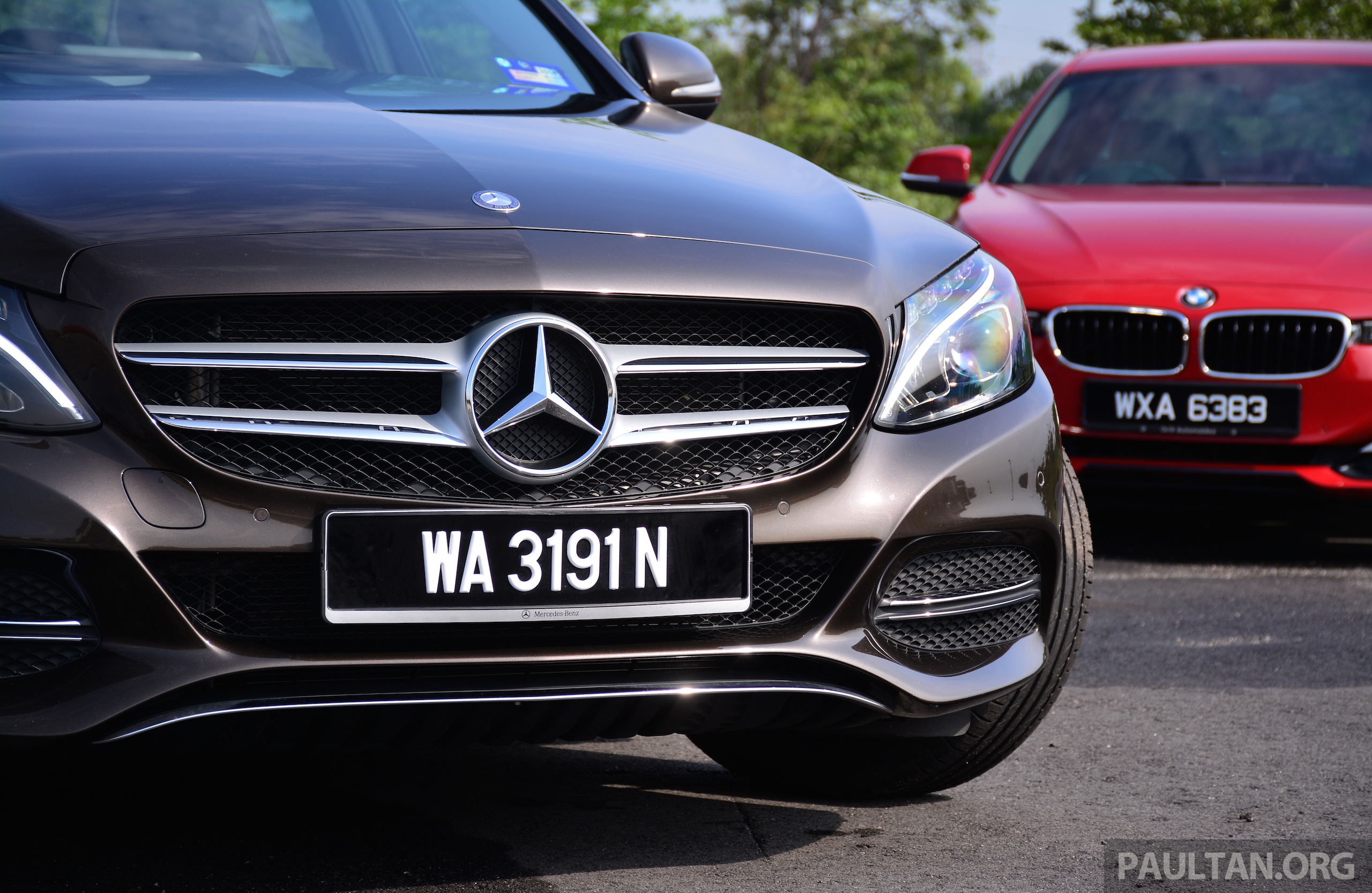 Gallery w205 merc c class vs f30 bmw 3 series image 286262 for Mercedes benz 3 series