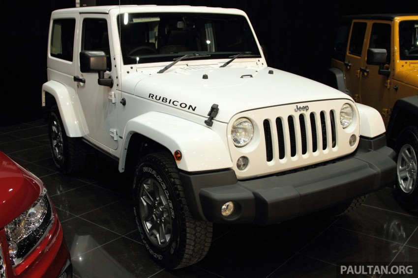 Jeep Wrangler launched in Malaysia: Unlimited Sport RM289k, Unlimited Sahara RM329k, Rubicon RM339k Image #292311