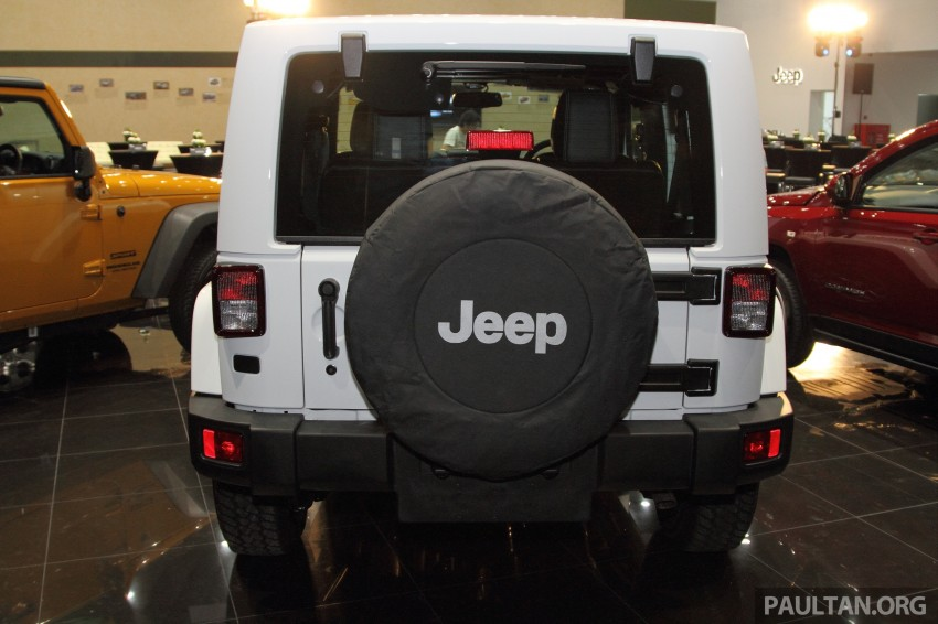 Jeep Wrangler launched in Malaysia: Unlimited Sport RM289k, Unlimited Sahara RM329k, Rubicon RM339k Image #292344