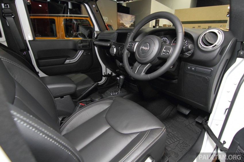 Jeep Wrangler launched in Malaysia: Unlimited Sport RM289k, Unlimited Sahara RM329k, Rubicon RM339k Image #292425