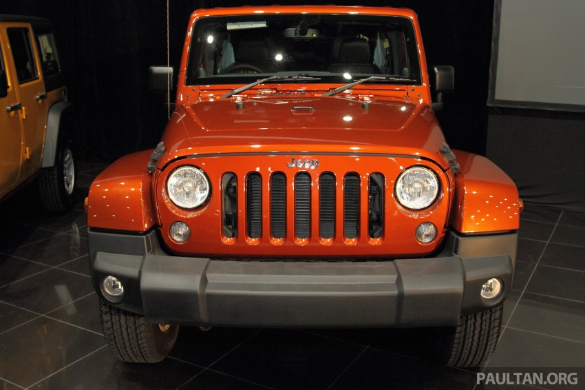Jeep Wrangler launched in Malaysia: Unlimited Sport RM289k, Unlimited Sahara RM329k, Rubicon RM339k Image #292444