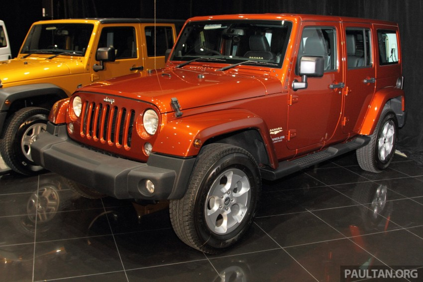 Jeep Wrangler launched in Malaysia: Unlimited Sport RM289k, Unlimited Sahara RM329k, Rubicon RM339k Image #292445