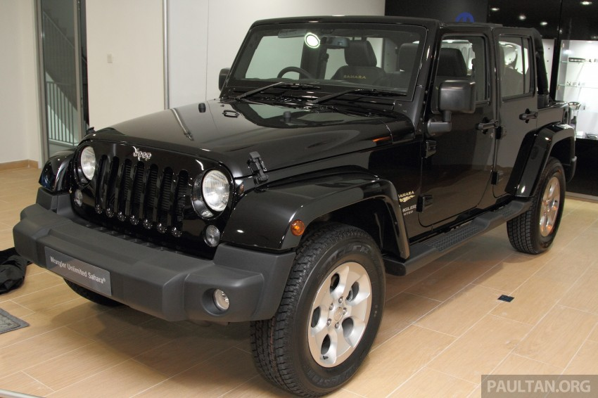 Jeep Wrangler launched in Malaysia: Unlimited Sport RM289k, Unlimited Sahara RM329k, Rubicon RM339k Image #292449
