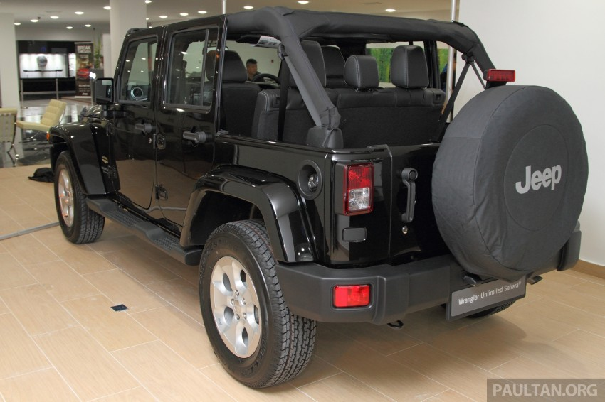 Jeep Wrangler launched in Malaysia: Unlimited Sport RM289k, Unlimited Sahara RM329k, Rubicon RM339k Image #292450