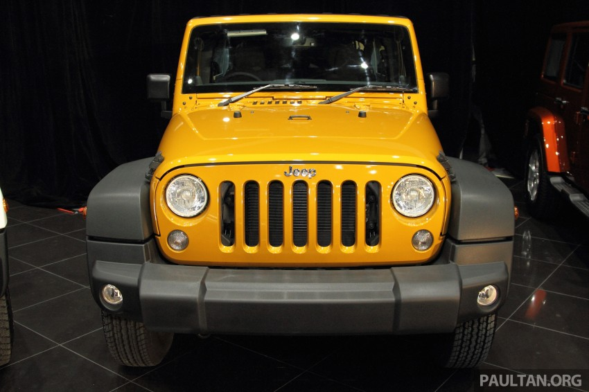Jeep Wrangler launched in Malaysia: Unlimited Sport RM289k, Unlimited Sahara RM329k, Rubicon RM339k Image #292472