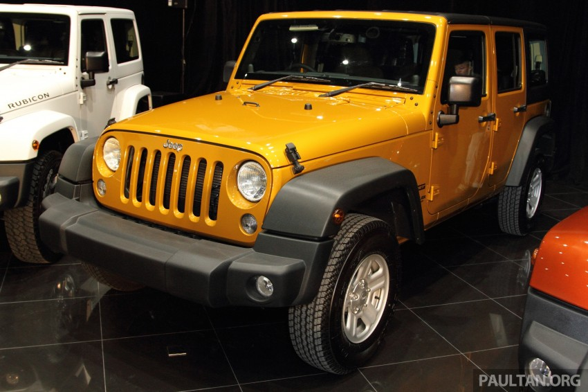 Jeep Wrangler launched in Malaysia: Unlimited Sport RM289k, Unlimited Sahara RM329k, Rubicon RM339k Image #292473
