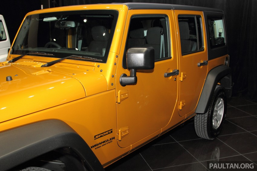 Jeep Wrangler launched in Malaysia: Unlimited Sport RM289k, Unlimited Sahara RM329k, Rubicon RM339k Image #292474