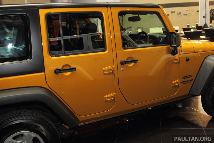 Jeep Wrangler launched in Malaysia: Unlimited Sport RM289k, Unlimited Sahara RM329k, Rubicon RM339k Image #292478