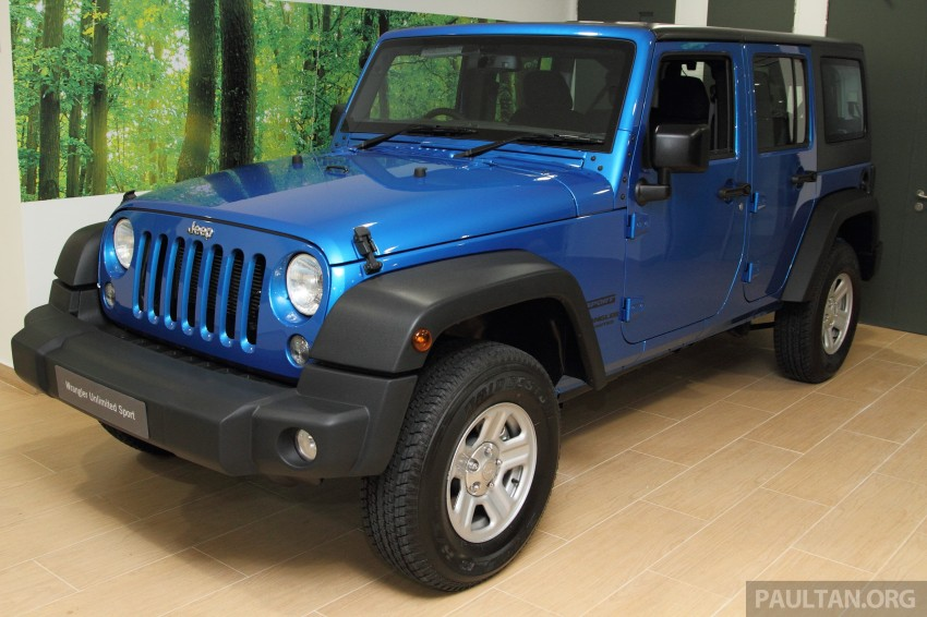 Jeep Wrangler launched in Malaysia: Unlimited Sport RM289k, Unlimited Sahara RM329k, Rubicon RM339k Image #292482