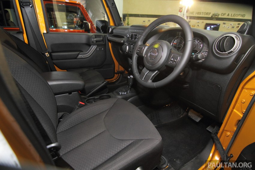 Jeep Wrangler launched in Malaysia: Unlimited Sport RM289k, Unlimited Sahara RM329k, Rubicon RM339k Image #292493