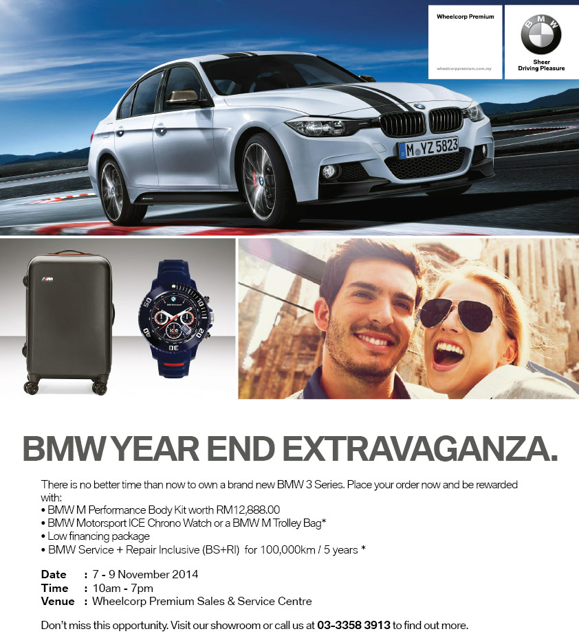 AD: Attractive Deals For BMWs At WheelCorp Premium