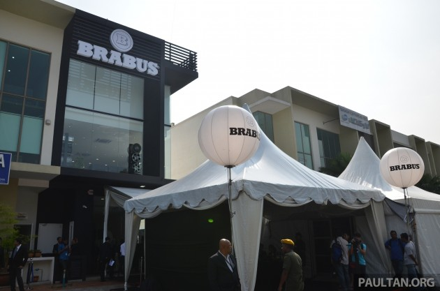 Naza Brabus Opens New Showroom In Glenmarie