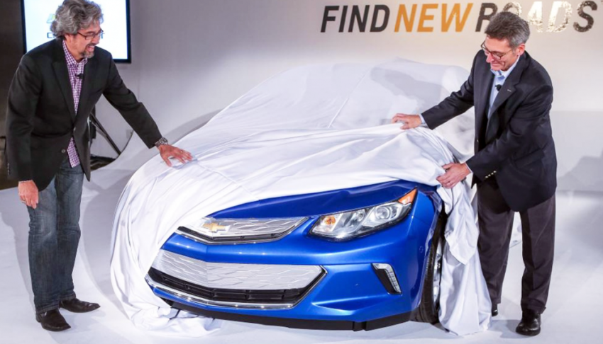 Chevrolet Volt second-gen teased ahead of Detroit Image #291448