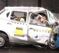 datsun go india ncap crash