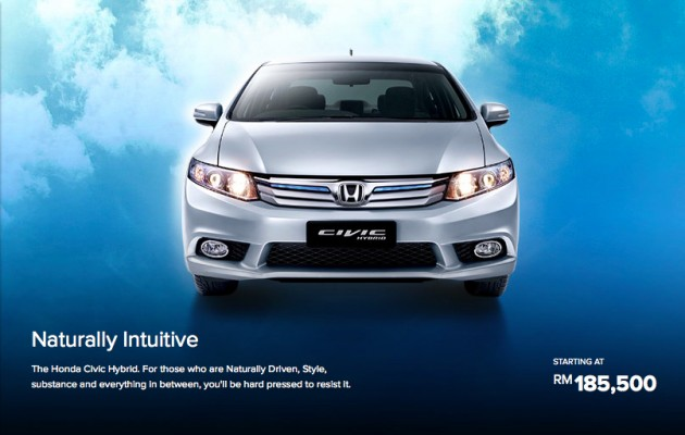 Honda Civic Hybrid 1 5 Price Revised To Rm185k