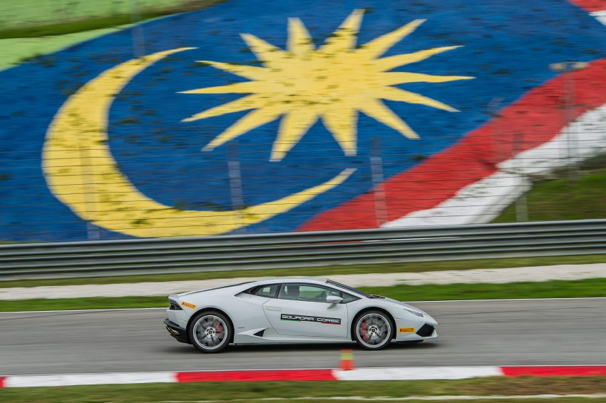 DRIVEN: Lamborghini Huracan LP 610-4 at Sepang Image #292850